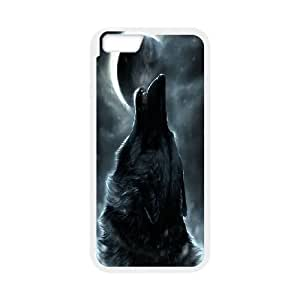 """Wolf Totem Art Pictures PC Hard Plastic phone Case Cover For Apple Iphone 6,4.7"""" screen Cases ZDI018051"""