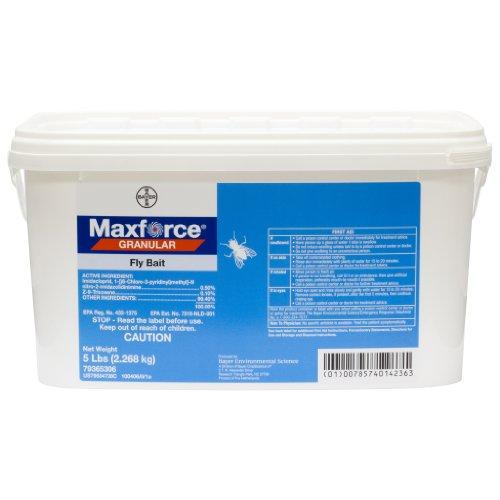 Maxforce Granular Fly Bait-1 5lb Pail BA1041