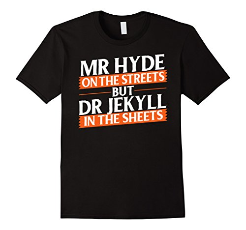 Mens Halloween Funny Costume Novelty Shirt XL (Jekyll And Hyde Halloween)