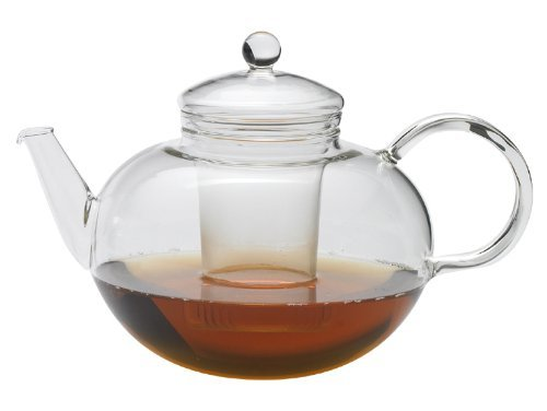 Glass Teapot with Glass Infuser 34 oz by Simax