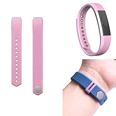 For Fitbit Alta , Lucoo® Luxury Silicone Watch Replacement Band Strap + Band Clasp for Fitbit Alta