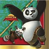 Kung Fu Panda Beverage Napkins, 16ct