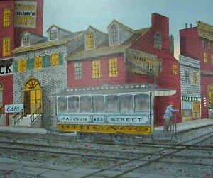 Madison Street by H. Hargrove