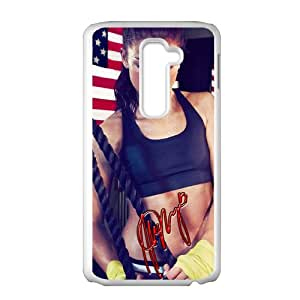 American Soccer Player Alex Morgan Cell Phone Case for LG G2