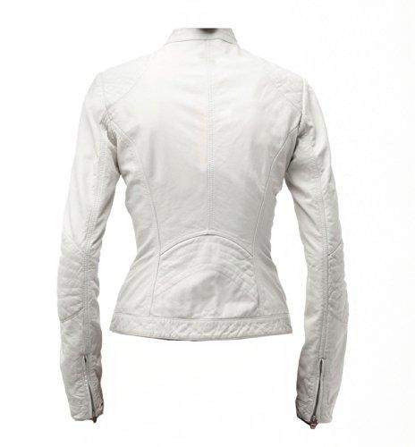 Classyak - Chaqueta - para mujer Sheep White