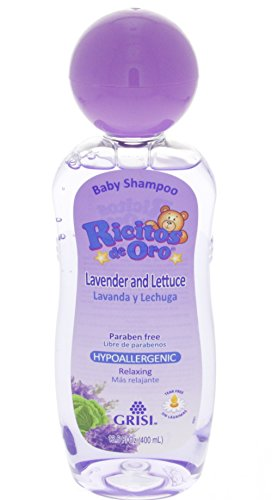 Grisi Ricitos de Oro Hypoallergenic Lavender and Lettuce Shampoo 13.5 oz (400ml)