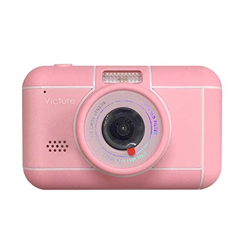 Victure Kids Camera 18MP 1080p FHD Video Digital Selfie Rechargeable Shockproof Camcorder 3x Digital Zoom for Children…
