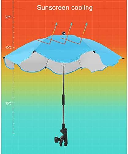 Baifeng Poussette b/éb/é Parapluie Parasol Parasol 360 degr/és r/églable pour ext/érieur Nouveau