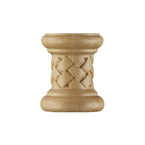 (Brown Wood-Series 200 Weaved End Half Spindle-Cherry 01322070CH2)