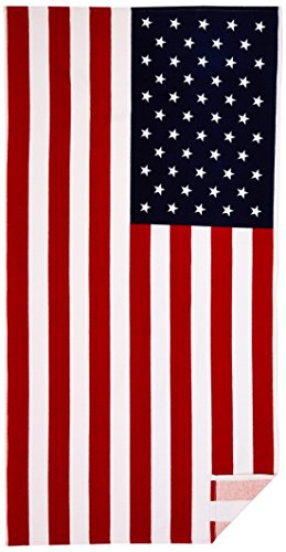 KAUFMAN-American-Flag-30in-x-60in-Beach-Bath-Pool-Sauna-Towel-101210