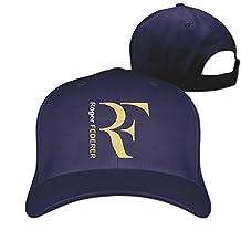 Men's Unisex Roger Federer Tennis Rock Cap Sunscreen Baseball Hat