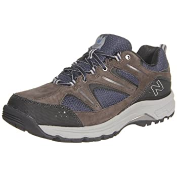 New Balance Men's MW759 Country Walking Shoe,Grey/Blue,10.5 D US