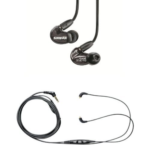 Shure SE215 K Earphones CBL M Remote