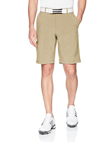 Jack Nicklaus Men's Big and Tall Solid Golf Short with Active Waistband & Media Pocket, Chinchilla, 36T