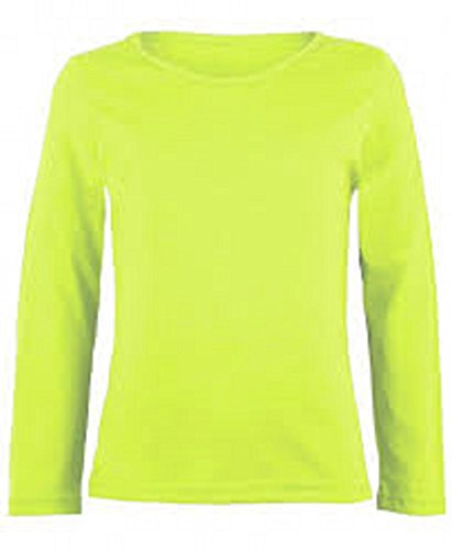 8def280afcdf7a ZET New Ladies Plus Size Long Sleeve T-Shirt Womens Stretch Plain Top Sizes  8-26 - Buy Online in Oman.