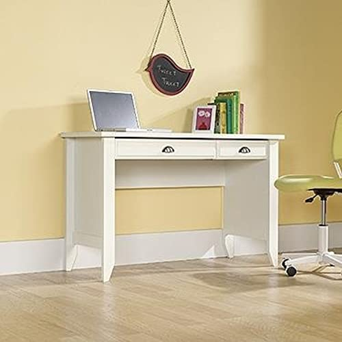 Small Desk For Bedroom. Sauder Shoal Creek Computer Desk  Soft White Finish Small for Bedroom Amazon com
