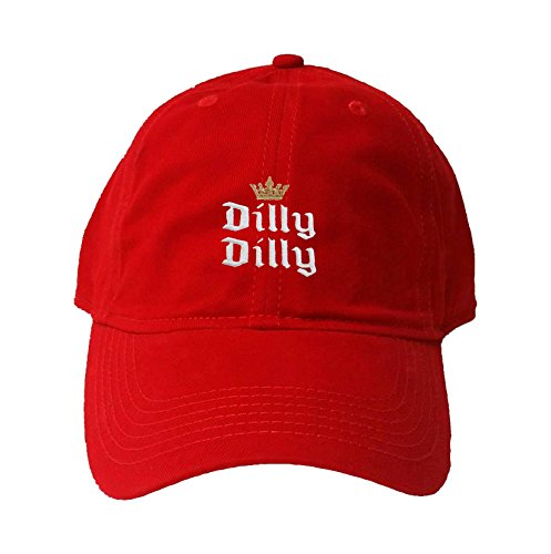ef908e10e9d Go All Out Adult Crowned Dilly Dilly Embroidered Deluxe Dad Hat ...
