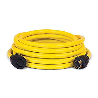 Champion 25-Foot 30-Amp 250-Volt Generator Power Cord for Manual Transfer Switch (L14-30P to L14-30R)