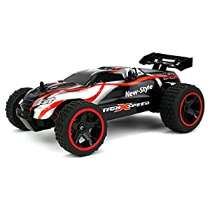 Top Racer Remote Control RC Buggy Truggy 2.4 GHz PRO System 1:18 Scale Size RTR w/ Working Suspension, Spring Shock Absorbers (Colors May Vary) - 41E4aNL9DAL - Top Racer Remote Control RC Buggy Truggy 2.4 GHz PRO System 1:18 Scale Size RTR w/ Working Suspension, Spring Shock Absorbers (Colors May Vary)