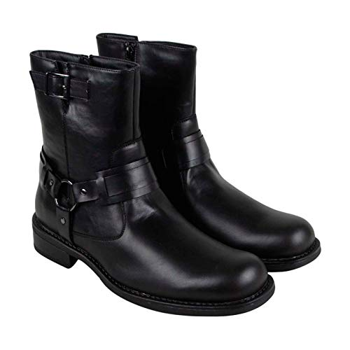 Kenneth Cole Unlisted Men's Slightly Off Harness Boot, Black, 10.5 M US