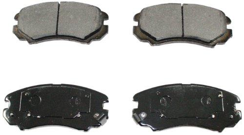 DuraGo BP924 MS Front Semi-Metallic Brake Pad ()