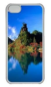 Beautiful Lake Custom iPhone 5s/5 Case Cover Polycarbonate Transparent