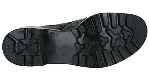 Grafters - Zapatos de caza para hombre Negro negro