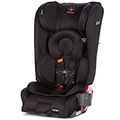 When it comes to your little ones, naturally you always want the best for them. Look no further than our Diono Rainier All-In-One Convertible Car Seat. Thoughtfully engineered with a streamlined design, full steel frame and extra deep aluminu...