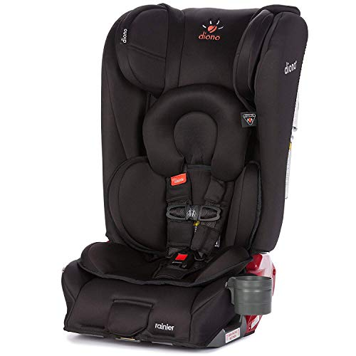 Diono 2018 Radian Rainier Convertible Car Seat In Midnight B