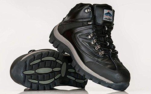 Portwest - Calzado de protección de piel para hombre, color negro, talla 39 EU Schwarz