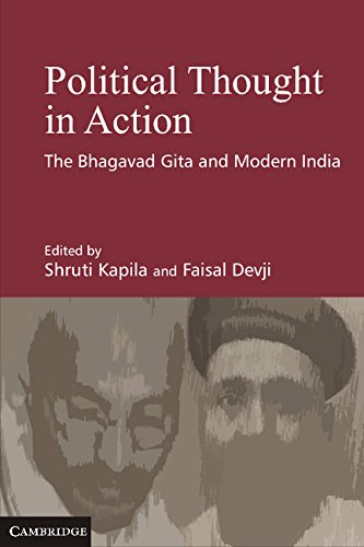 Political Thought in Action: The Bhagavad Gita and Modern India