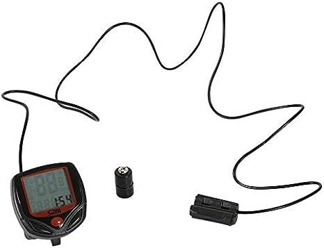 ClookYuan Medidor de Bicicleta Velocímetro Bicicleta Digital LCD ...