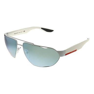 Amazon.com: Gafas de sol Prada Linea Rossa PS 56 US TWK5K2 ...