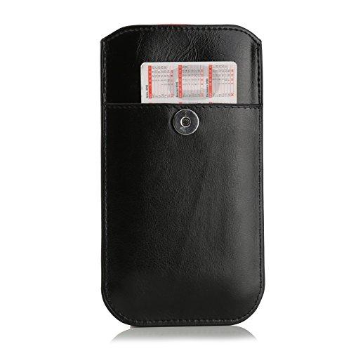 Mobiletto The Bag Hülle für Apple iPhone 6 Plus schwarz