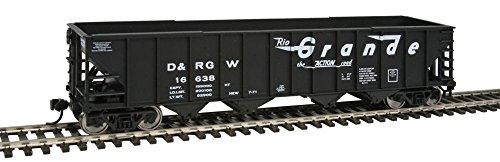 Walthers Trainline 50' 100-Ton 4-Bay Hopper - Ready to Run -- Denver (Western 4 Bay Hopper)