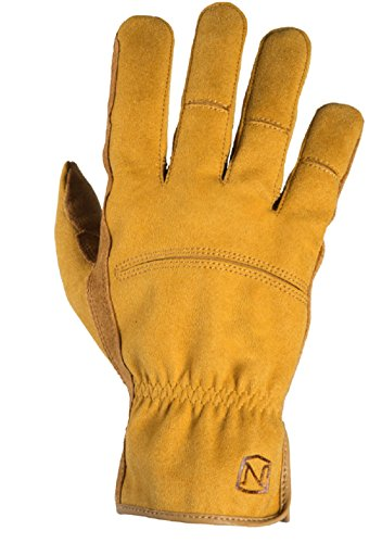 - Noble Outfitters Working Waterproof and Fleece Lined Mens Dakota Work Glove Horseback Tough Heavy Duty Gloves Tan (Medium)