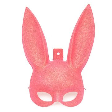 System Collections Generic Queue System String Mask & Costumes - Cute Fancy Rabbit Mask Decoration Props Toys - Cony Cheek Dissemble Ribbon - 1PCs Rabbit Medallions