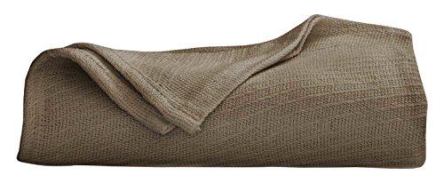 Martex Cotton Woven Blanket, Twin, Pine ()