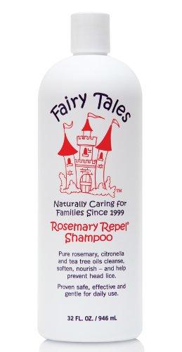 Contes de fées Tous naturelles, de soins capillaires bio pour Rosemary enfants Repel Shampooing, 32 once