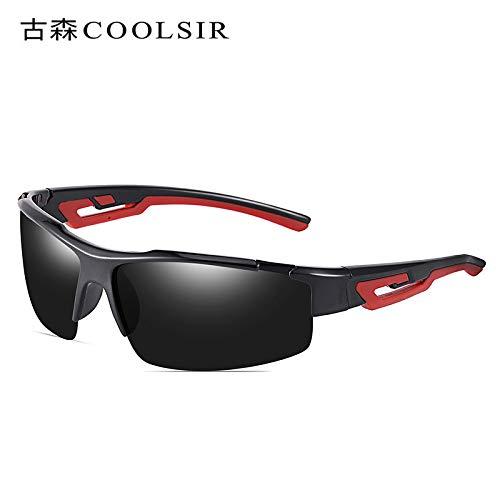 Gafas Sol Conducción Mjia Hombre Libre nbsp;Espejo Black al equitación Montañismo de Aire Deportivas Rojo Marco polarizadas sunglasses Sol de nbsp; Gafas frame Gafas de de pwf5fq4a