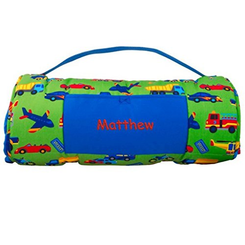 DIBSIES Personalization Station Personalized Nap Mat (Cars, Trucks, Planes, Trains) (Nap Mat Planes)