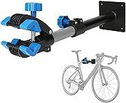 Bike Repair Stand Wall Mount, Bicycle Repair Rack Workstand Height Adjustable Bicycle Maintenance Rack Bike Re