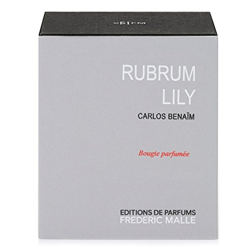 Frederic Malle Rubrum Lily Scented Candle (Pack of 2) - フレデリックマルルブルムユリの香りのキャンドル x2 [並行輸入品] B07255GHS2