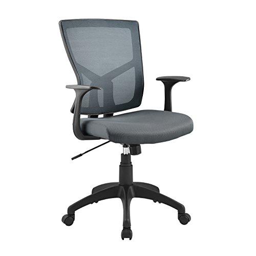 Serta CHR20019B Essential Hartford Mesh Office Chair, Modern Gray by Serta