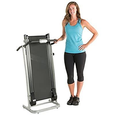 ProGear 190 Space Saver Manual Treadmill with Twin Flywheels 3001 from Paradigm Health and Wellness Inc