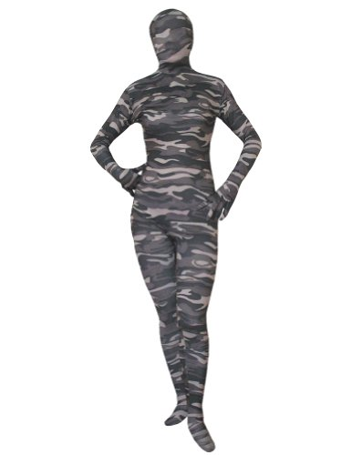 AltSkin Unisex Full Body Spandex/Lycra Suit, Camouflage, XX-Small]()