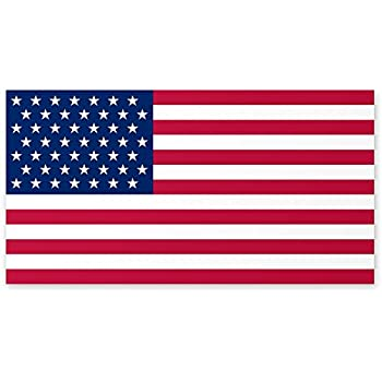 amazon com american flag car sign magnet automotive rh amazon com Patriotic Clip Art American Flag Clip Art Animated