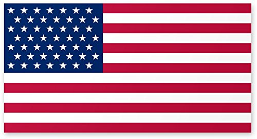 American Car Flag Magnet (American Flag Car Magnet - 4 X 6 - Weather and UV Resistant from Flexible Magnets)