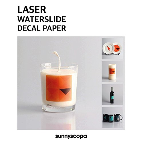 Sunnyscopa Laser Decal Paper Standard Clear 11