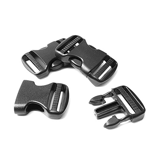 Buckle Belt Genuine Black (10 Pack Plastic Hardware 3/4